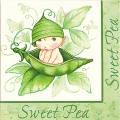 Sweet Pea Baby Shower Napkins (16)